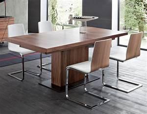 Pied Table Central : 10 tables de repas rallonges joli place ~ Edinachiropracticcenter.com Idées de Décoration