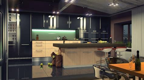 how to choose led kitchen lighting modern place