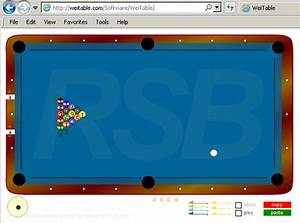 Billiards Diagramming Software