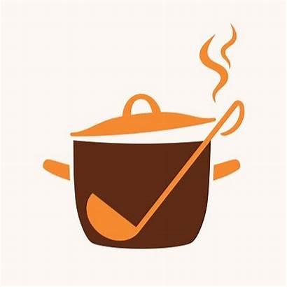 Pan Cooking Vector Pot Soup Icon Clipart