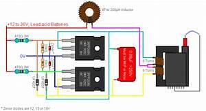 Voltage - Current Output For Zvs Flyback Transformer