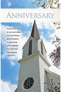 Black Church Anniversary Bulletins