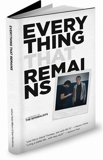 Everything Minimalists Remains Fields Minimalist Books Joshua