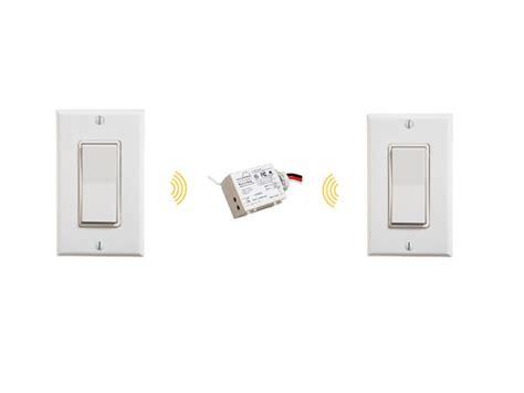 wireless light switch kit 3 way wireless light switch kit illumra