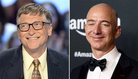 Jeff Bezos Bill Gates