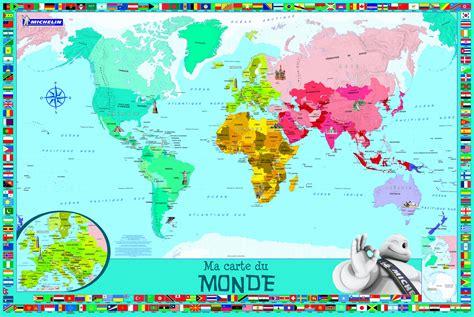 carte du monde enfant coloriage carte monde enfants