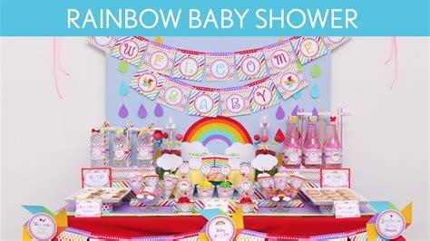 rainbow baby shower rainbow baby shower ideas rainbow s14
