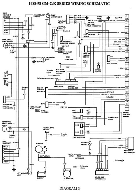 Gmc Truck Wiring Diagrams Harness Diagram