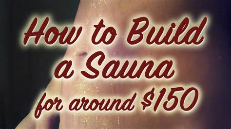 How To Build An Infrared Sauna For Around $150  Infrared