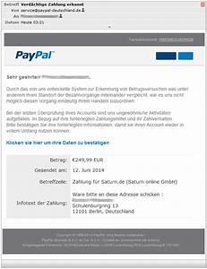 Paypal Zahlung Nicht Möglich : verd chtige zahlung erkannt paypal phishing dies und das ~ Eleganceandgraceweddings.com Haus und Dekorationen