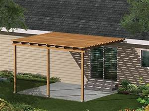 Simple patio cover ideas for Wood patio floor covers