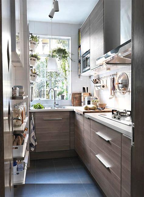 como sobrevivir  una cocina estrecha cocina pequena hogarhabitissimo cocinas pequenas