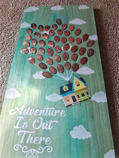 inspired adventure    wooden pressed penny