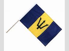 Barbados Hand Waving Flag PRO 2x3 ft RoyalFlags