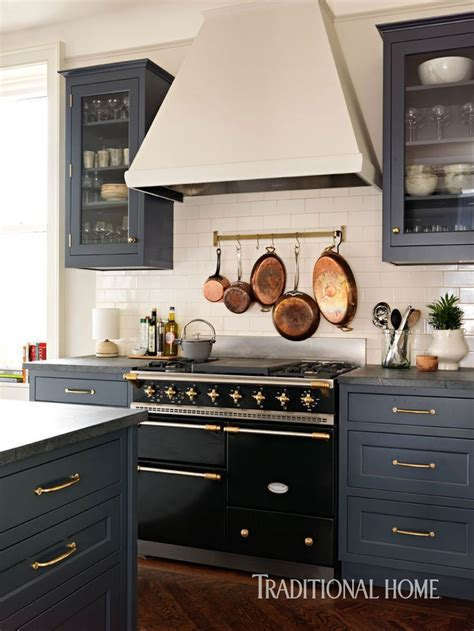 grey kitchen cabinets with black appliances a designer s updated manhattan kitchen black 8358