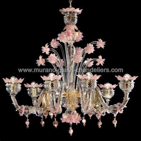 quot sissi quot murano glass chandelier murano glass chandeliers