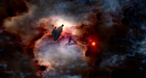 space probe pioneer  gas fog  image  pixabay
