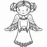 Angel Heart Coloring Pages Bible Holding Angels Christmas Biblecoloringpages Printable Drawings Clip Card Child sketch template