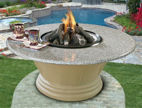 gas firepit tables outdoor fire pit gas logs outdoor gas