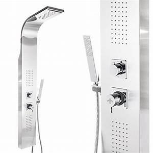 Duschpaneel Mit Thermostat : steinkirch edelstahl duschpaneel mit regendusche ~ Michelbontemps.com Haus und Dekorationen