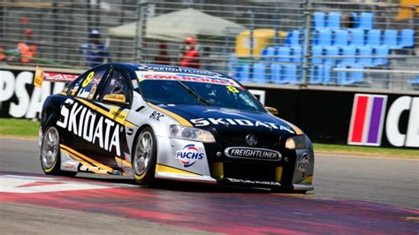 bjr dunlop team testing today supercars