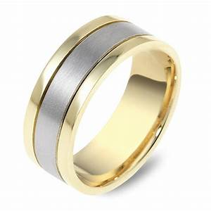 men39s dora two tone wedding ring wedding rings rings With dora mens wedding rings