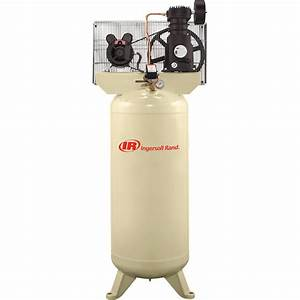 Ingersoll Rand Electric Stationary Air Compressor  U2014 5 Hp