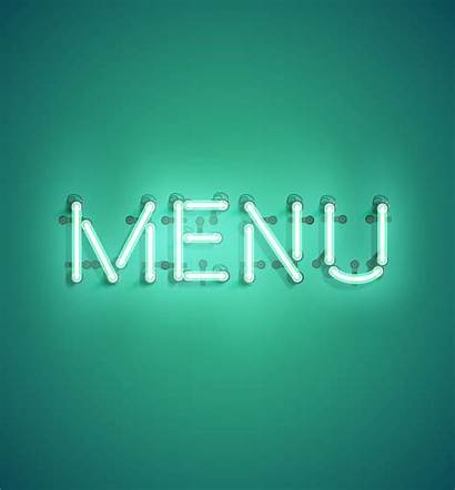 Word Neon Realistic Vector Illustration Advertising Clipart