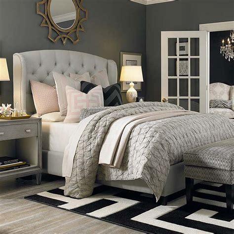 paris fabric queen bed custom upholstered beds