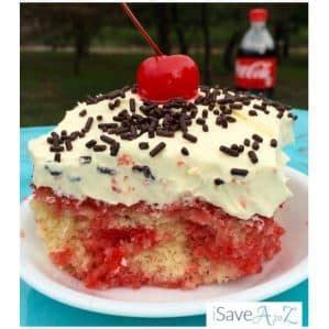 cherry vanilla coke poke cake recipe isaveazcom