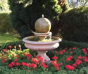 Hampshire, Garden, Ball, Fountain