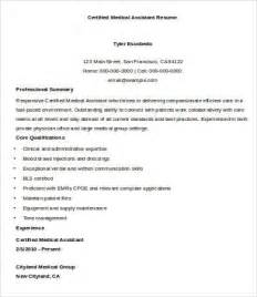 certified assistant resume template sle assistant resume 9 free sle exle format free premium templates