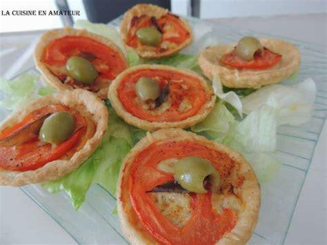 recette de cuisine en recettes de mini tarte a la tomate de la cuisine en de maryline