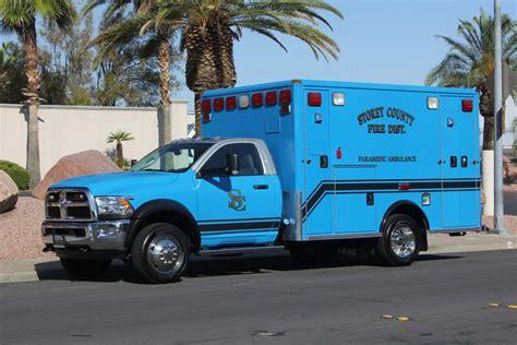 Dodge Ambulance by Storey County District 2016 Dodge Ambulance Remount