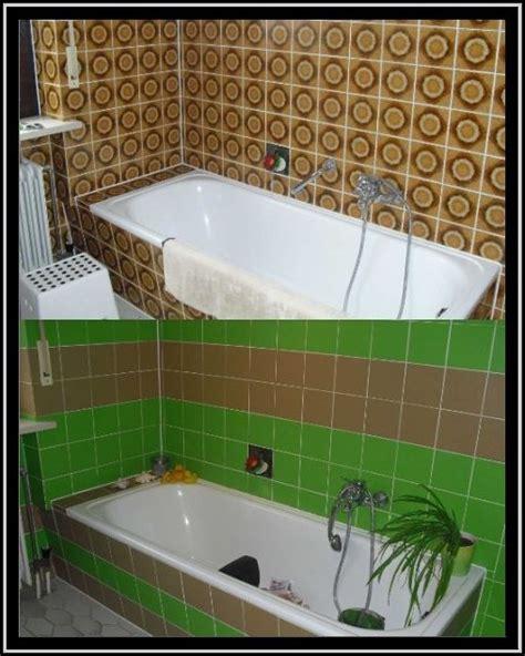Badezimmer Fliesen Streichen Vorher Nachher Fliesen