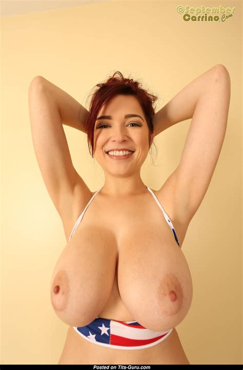 Tessa Fowler Topless Red Hair Pornstar With Nude Melon