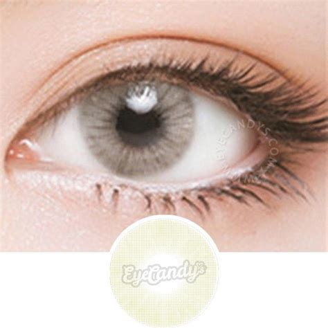 Buy Eyecandys Glossy Ivory Colored Contacts Eyecandys