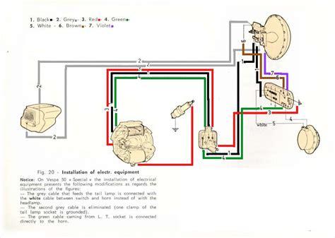 vespa vbb wiring diagram wiring diagram
