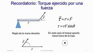 Fuerza y torque magnético - YouTube  Torque