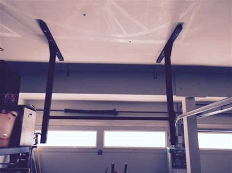 install pull up bar in garage pull up bar workouts exercises and tips from stud bar