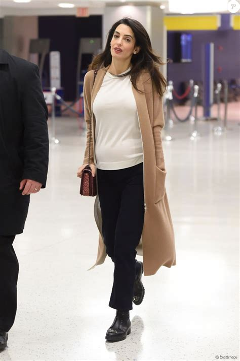 Amal Clooney leaving New York on 10.03.2017
