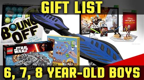 best christmas gifts for boys ages 6 8 2017