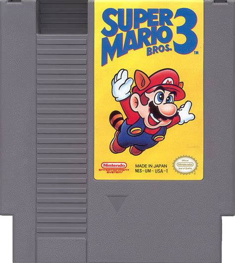 Super Mario Bros 3 Nes Nintendo Game
