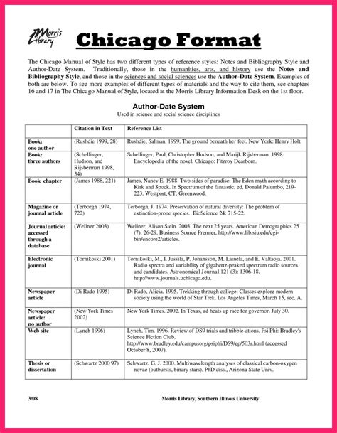 chicago style template sle chicago style paper bio letter format