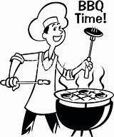 Barbecue Drawing Bbq Grill Clipart Background Getdrawings sketch template