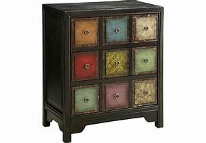 Abilene Black Accent Cabinet - Accent Cabinets Colors