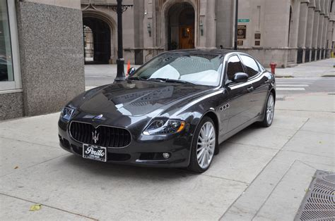 maserati quattroporte 2011 2011 maserati quattroporte s stock m204a for sale near