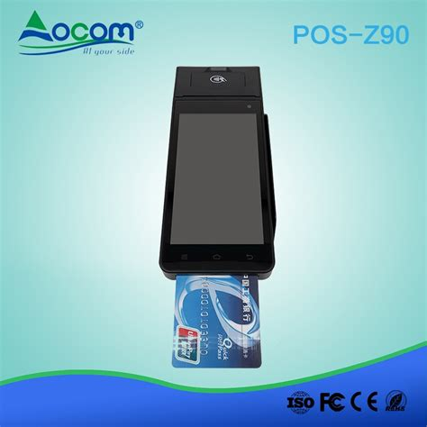 mobile payment pos z90 pci emv 4g bluetooth wireless android handheld pos