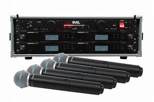 Shure Blx24r  B58 4 Pack Wireless Handheld Mic System With
