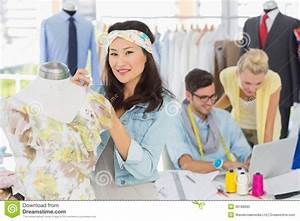 Fashion Designers At Work Stock Photo - Image: 39188985